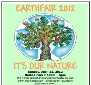 Earthfair 2012,City of San Diego,Walmart,CoachAmerica,Qualcomm,USD,Nissan,Solar Turbines,ABC 10 News,San Diego 6,Sophie,KPRi