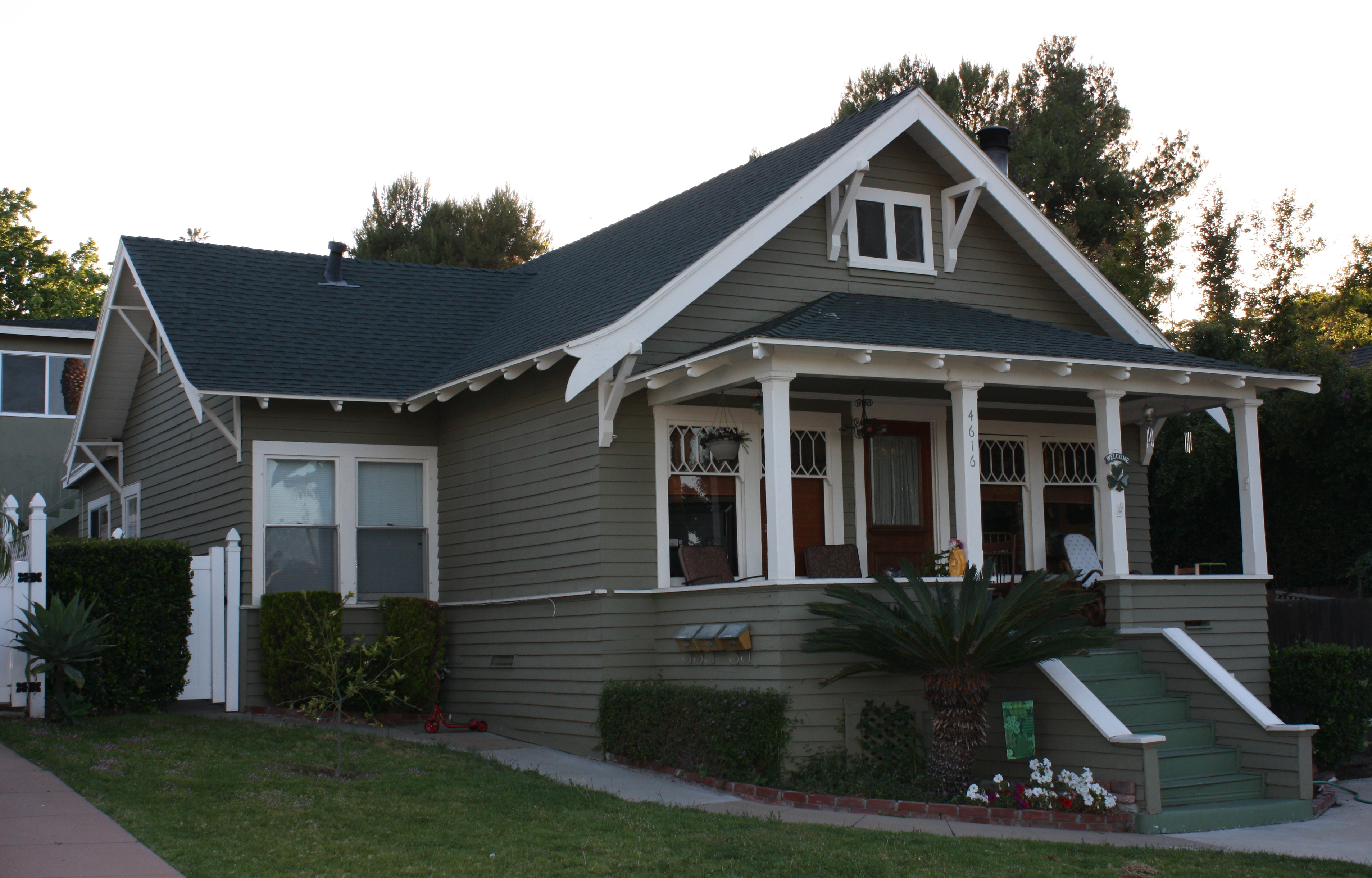 Windsor Hills Craftsman Home in La Mesa, CA