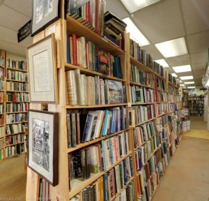 Maxwell's House of Books,La Mesa,San Diego,Rosemary Joles,Top Five Novels,Francine Prose,Moby Dick,Huckleberry Finn,Lord of the Rings,Willa Cather,Mark Twain,Brothers Karamazov