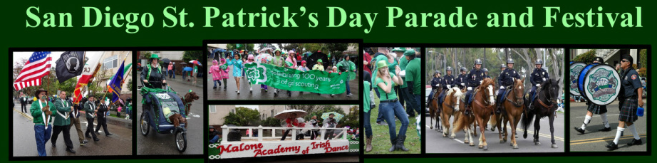 san diego st patricks day parade and festival