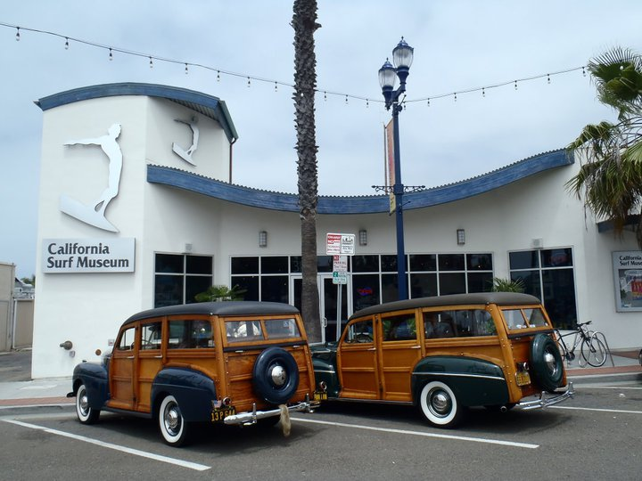 California Surf Musuem Woody's