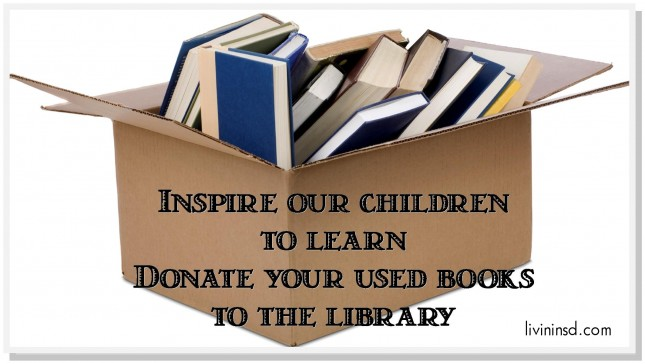 donate books- san diego