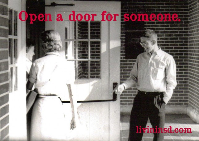 21-open a door for someone -livininsd.com
