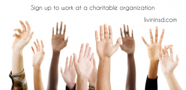 31- Sign up to work at a charitable organization livininsd.com