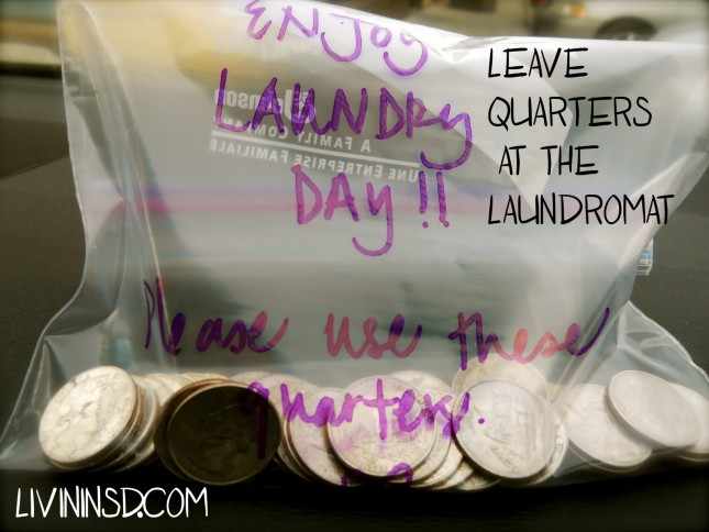 34-Leave quarters at the laundromat  livininsd.com