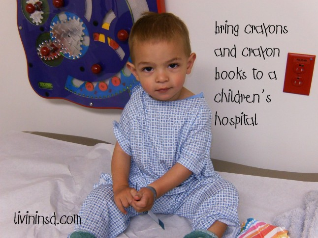 39-Donate coloring books and crayons to a children's hospital  livininsd.com