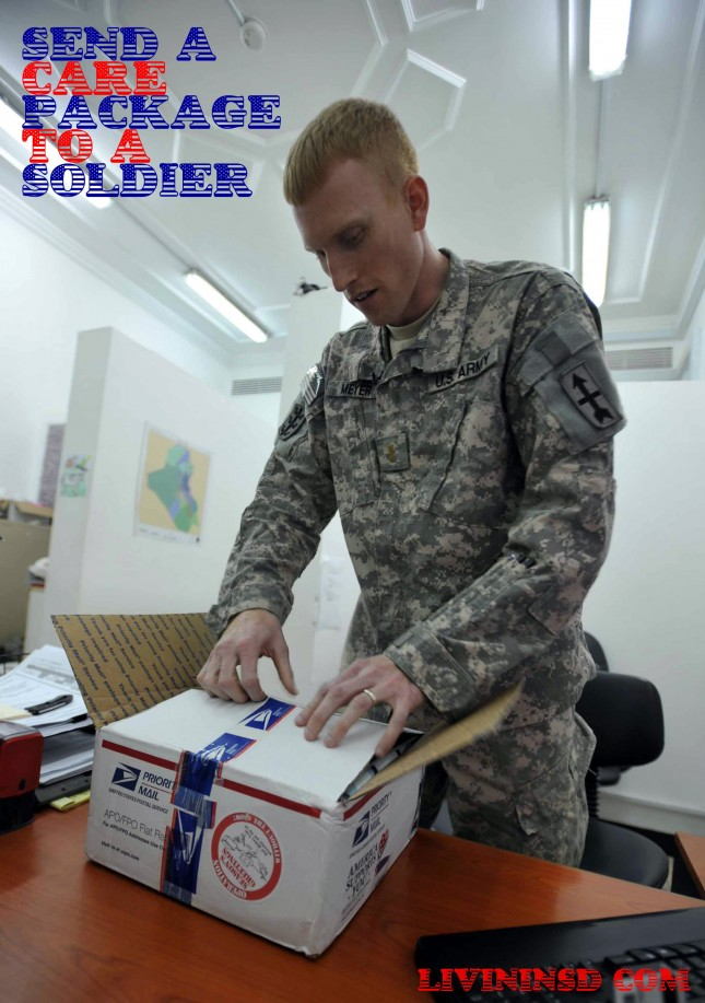 41-Send a care package to a soldier   livininsd.com