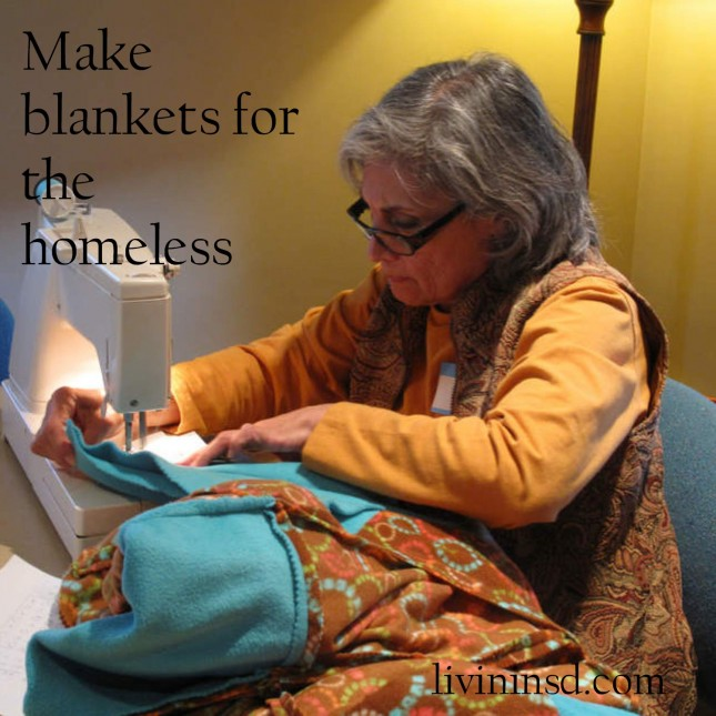 48- Make blankets for the homeless  livininsd.com