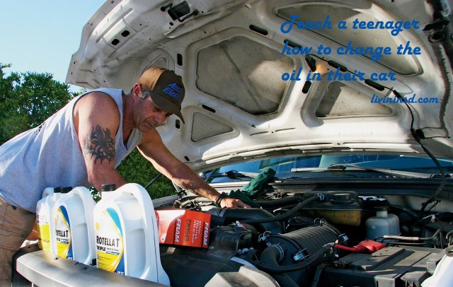 60 Teach a teenager how to change the oil in their car -rvmagonline.com