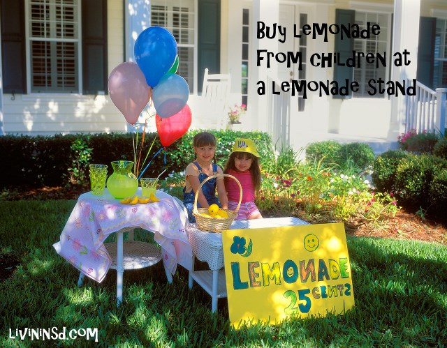 69-Buy lemonade from a lemonade stand -casablancadigitalmedia.com