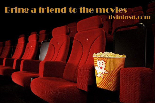 84-Treat a friend to the movies