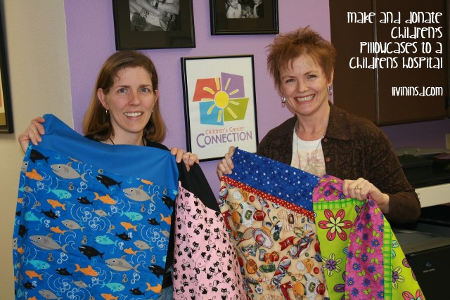 93- Make and donate children's pillowcases to a childrens hospital httpchildrenscancerconnection.blogspot.comBrenda and Channon (ConKerr Cancer)