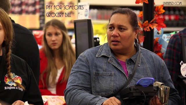95-Pay for someones grocery bill