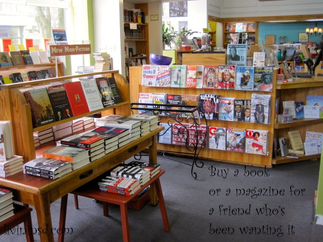 108-Buy a book or a magazine for a friend who's been wanting it.