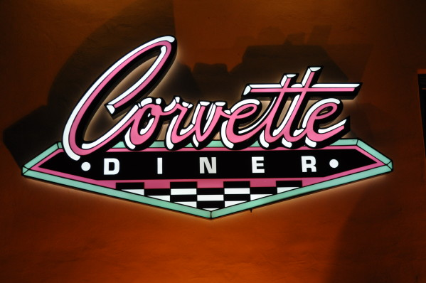 Corvette Diner Sign at Liberty Station