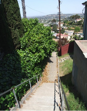 windsor hills secret stairs