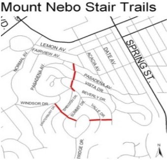 mount nebo stair trails