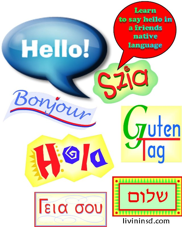 130 Learn to say hello in a friends native language