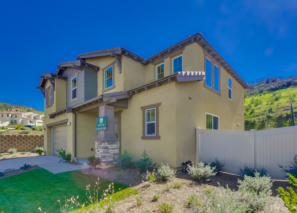 Front view of 13523 Sohail St., in Lakeside, CA  92040