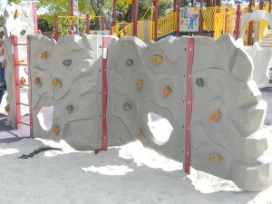San Carlos Park and  Recreation Center Climbing Wall