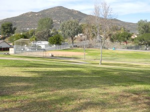 San Carlos Park and Recreation Center View of Cowles Mountain