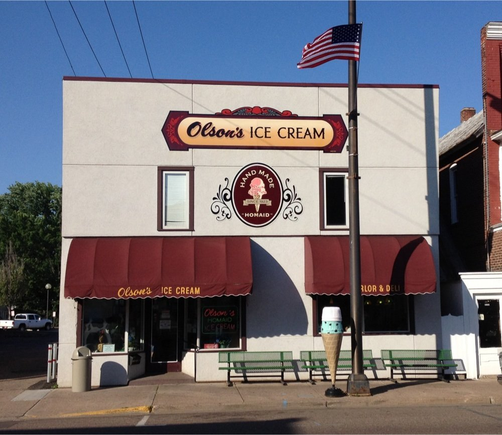 Ice Cream at Olson's