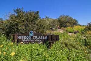 Mission Trails Cowles Mountain