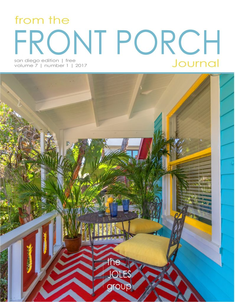 April, May, June 2017 From The Front Porch Journal