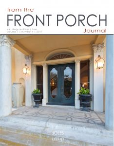 Cover 4-2017 of From the Front Porch Journal